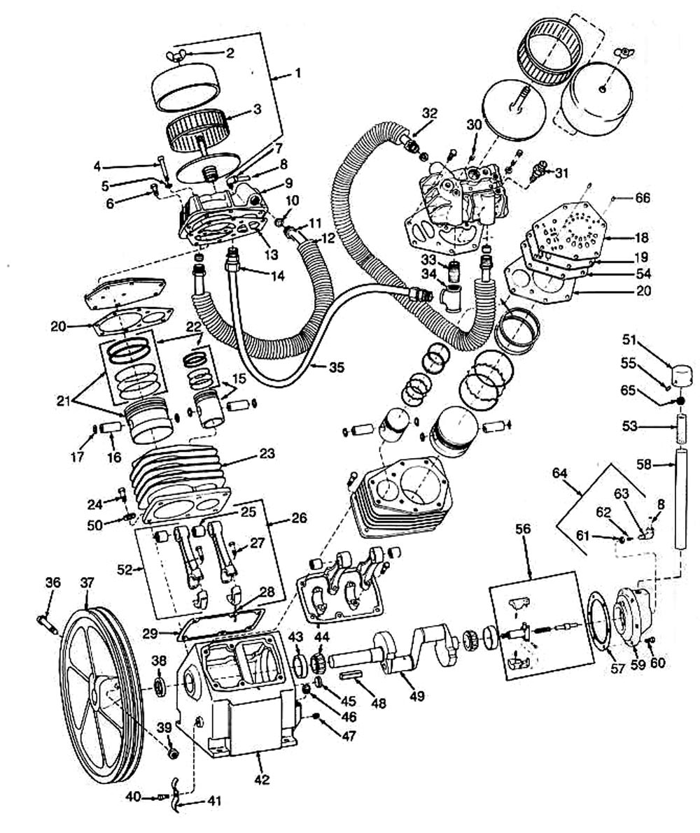 air compressor parts store - book wiring and engine