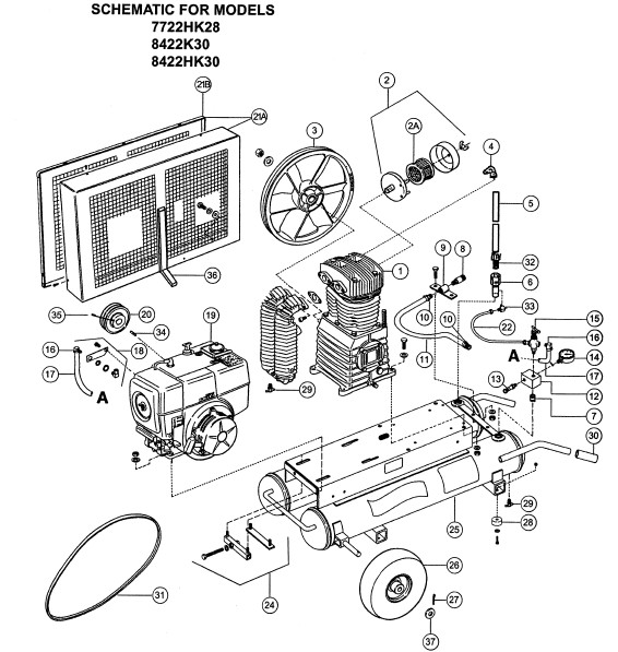 sullair parts diagram