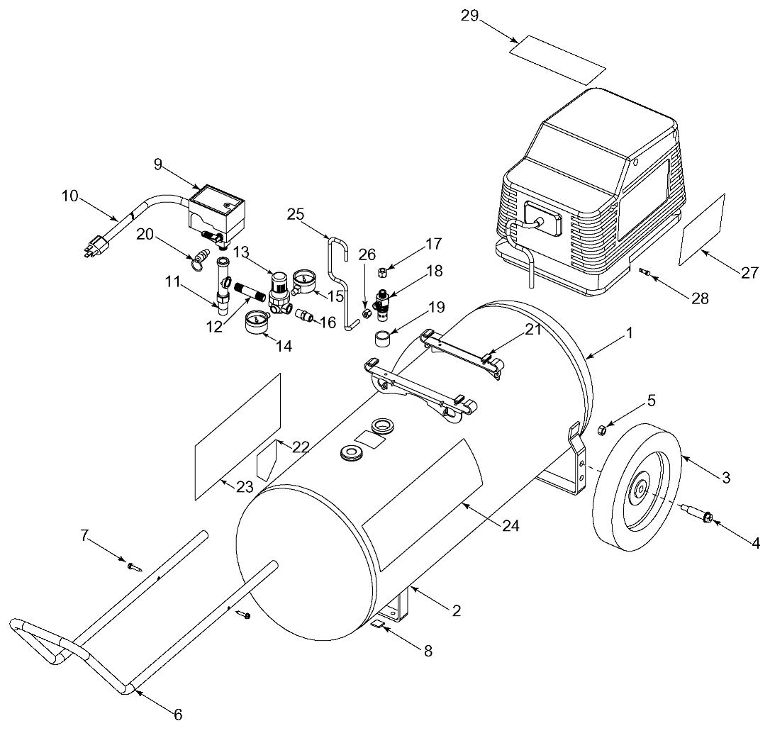 Sears Online Parts New Coupons Suburban 15 Tractor Wiring Diagram Snow Blower Free Engine Imagesears Craftsman 919165510 Air Compressorfreezer Schematic 106 720461 41