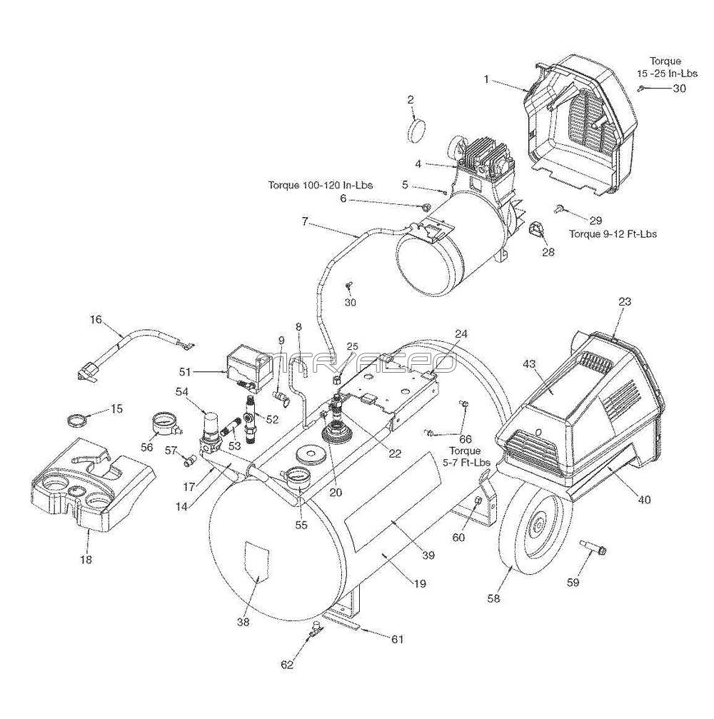 Sears Craftsman Spare Parts Electric 3 In 1 Lawn Mower Electrical Schematics Model 900370510 919 167342 Air Compressor