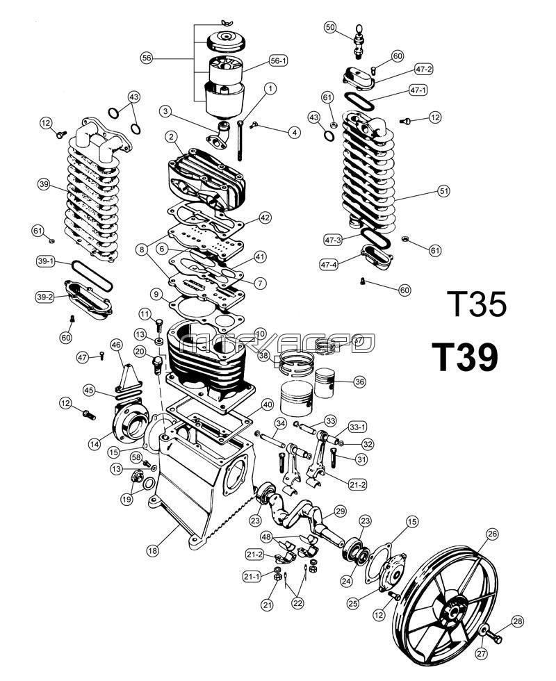 belaire two stage air compressor 338h titan air compressor parts diagram rancho air compressor wiring diagram