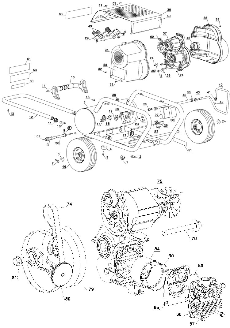 dewalt air compressor wiring diagram