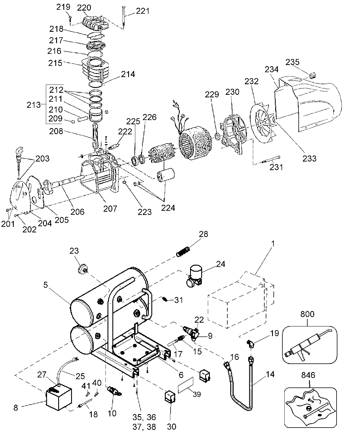 D55151 - DeWalt Parts schematic