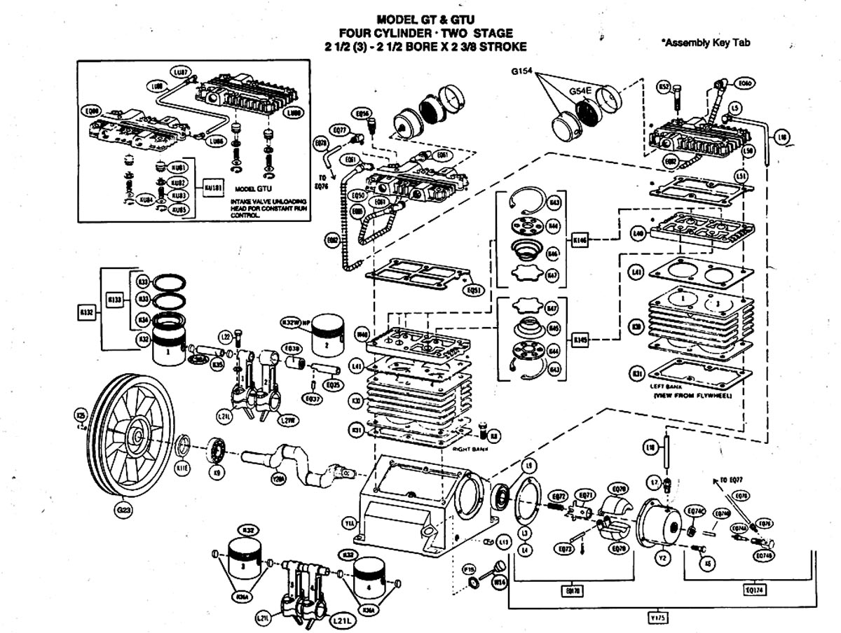 Diagram 2 Stage Air Compressor Pumps - Application Wiring Diagram •