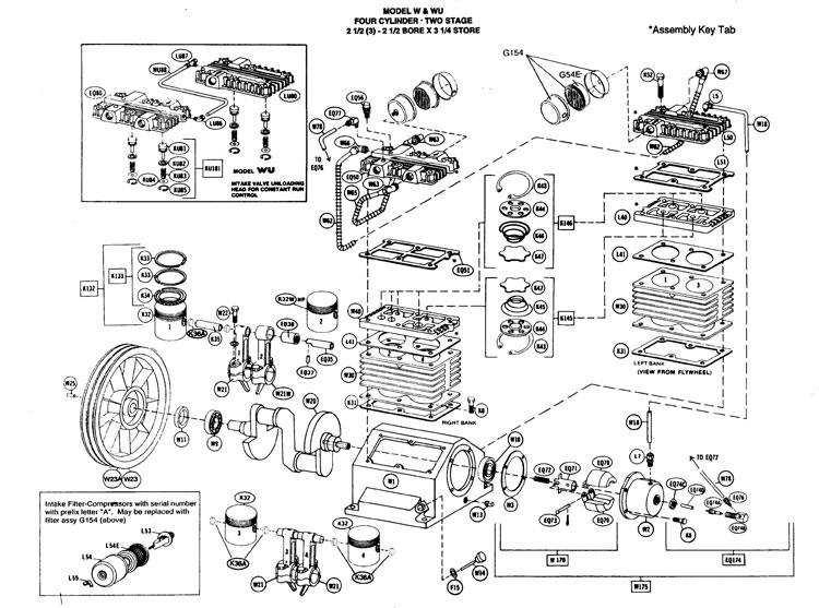 quincy parts manual air compressor starter wiring diagram air compressors rogers machinery