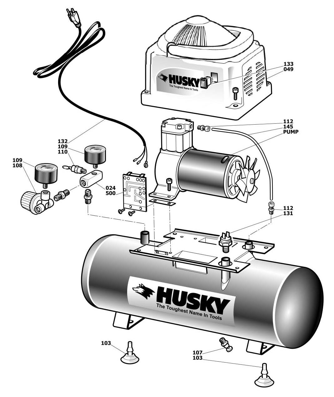 HHD2NK_parts husky parts hhd2nk, 948 682 air compressor husky air compressor wiring diagram at edmiracle.co