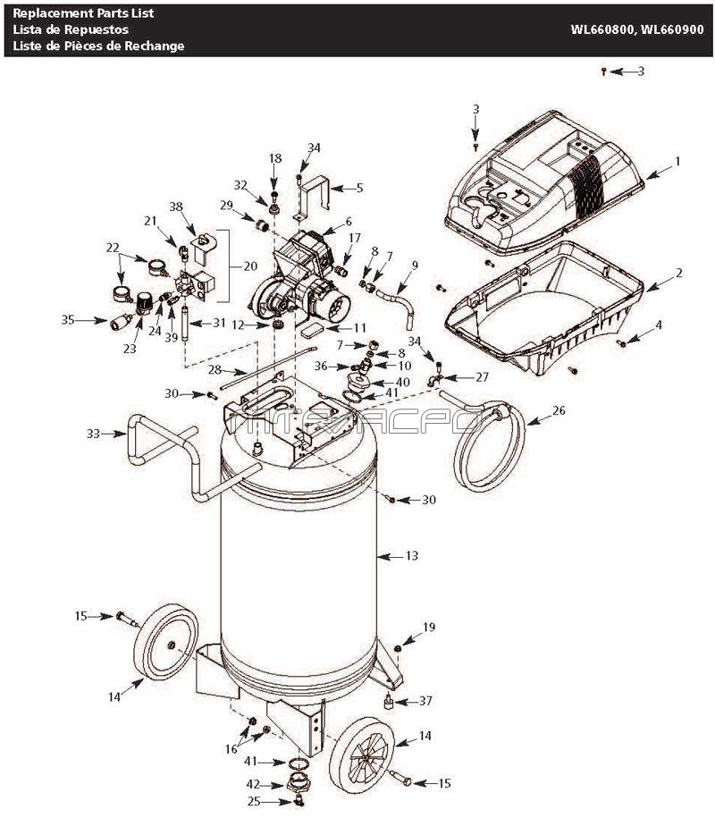 Wiring Diagram Replacement Parts Diagram And Parts List For Craftsman