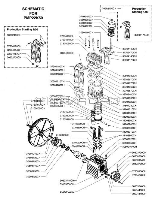 rolair compressor parts diagram