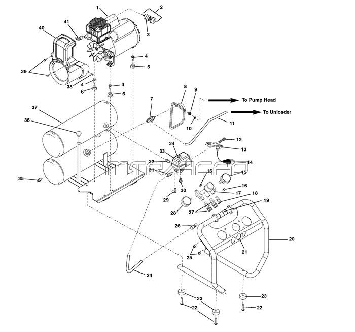 OF45150, OF45150A, OF45150B - RIDGID Parts schematic