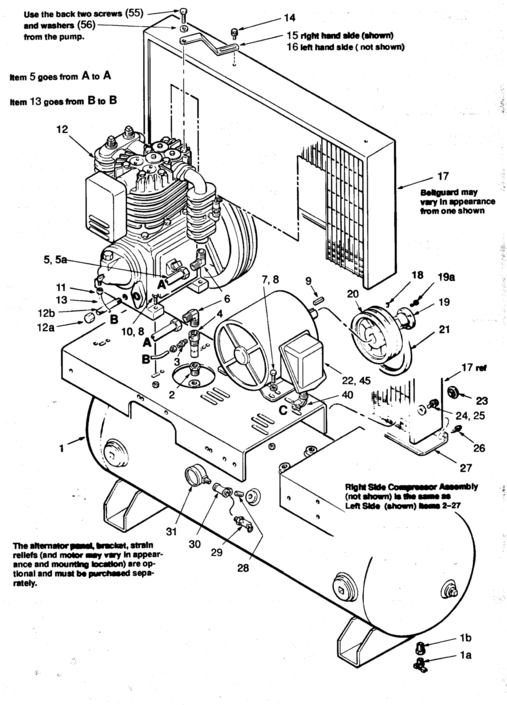 sanborn air compressor centrifugal switch with wiring diagram sanborn 2 c523e80h  2 c523e120h air compressor parts online  air compressor parts