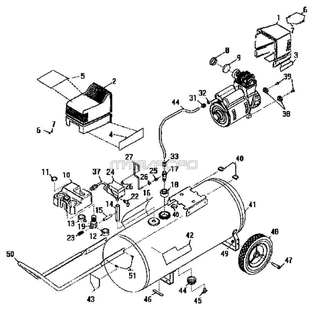 Wiring Diagram Diagram And Parts List For Craftsman Generatorparts
