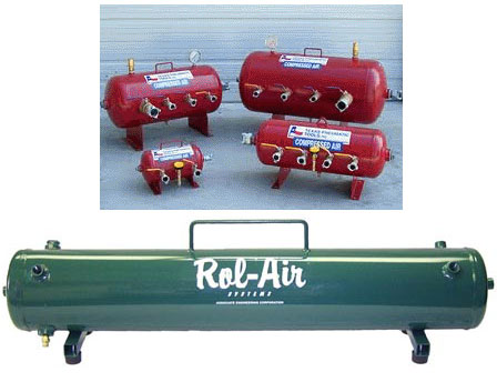 Industrial Grade Portable Air Tanks