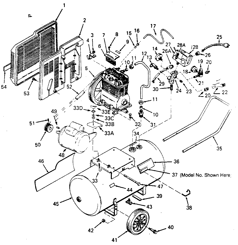 Wiring Diagram For Craftsman Air Compressor from aircompressorpartsonline.com