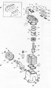 VT510702JY - Pump Assembly Parts