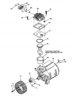 919.155730, 919.155731 - Oil-Free Direct-Drive Pump Parts schematic