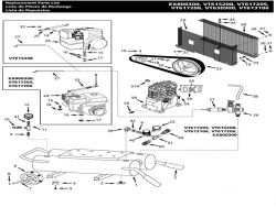 VT617205AJ, VT613106, VT615208 - Air Compressor Parts schematic